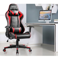 Merax High Back Swivel Racing Car Style Gaming Chair Office Desk Chair
