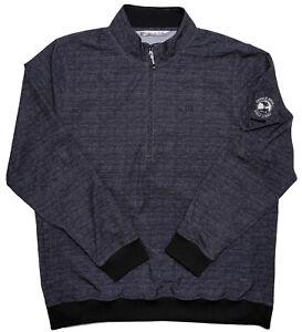 TRAVIS MATHEW 1/2 Zip Pullover Jacket Pebble Beach Golf Links Gray XXL 2XL
