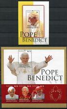 St Vincent Mayreau 2011 papa Benedicto Pope Benedict religión post frescos mnh