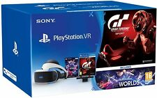 PlayStation VR + PS Camera V2 + VR Worlds + GT Sport [Bundle] PS4 PS VR NUOVO