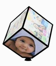 Automatic Rotating 360° Large Photo Frame Holds 6 Pictures