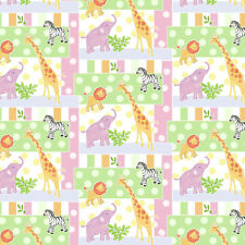 SAFARI BABY PATCH FABRIC CP58147