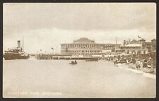 Hampshire. Portsmouth. Southsea. Clarence Pier - Early Printed Postcard