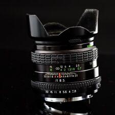 Sigma mini-wide 28 mm F2-8 Pentax K Fit Lens & Lens Hood (JW11)