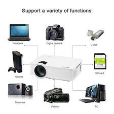 7000 Lumens 3D LED Video Projector 1080P Home Outdoor Movie Cinema HDMI USB AV