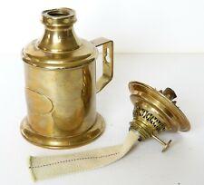 Old G.V HARNISCH E.S SORENSEN Kobenhavn TABLE WALL OIL LAMP Denmark No.17653