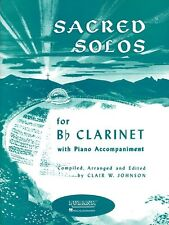 Sacred Solos Clarinet and Piano Rubank Solo Collection NEW 004472000