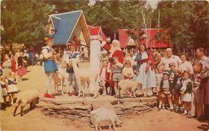 Amusement 1950s Children's Santa & Helpers Workers  Animals Roberts 5159