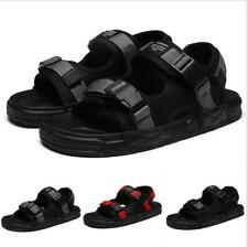 Mens Sports Sandals Ankle Buckle Flats Beach Open Toe Summer Casual Sandal Shoes