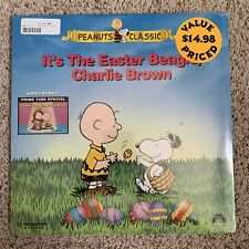 It's The Easter Beagle Charlie Brown Laserdisc - VERY RARE - BRAND NEW