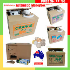 Automatic Stealing Coin Cat Coins Money Box Bank Panda Cat Steal Money Coin Bank