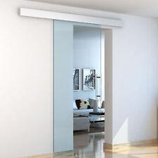 HOMCOM Sliding Glass Door 8mm Tempered Interior System Handle 75 x 210cm