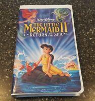 Little Mermaid II, The: Return to the Sea (VHS, 2000, Clamshell) Walt Disney