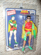 """Official World's Greatest Heroes 8"""" Figures Toy Co Series 3 Removable Mask Robin"""
