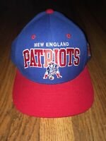 New England Patriots Snapback Hat Mitchell & Ness NFL Vintage Collection