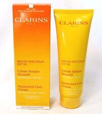 CLARINS SPF 30 SUNSCREEN CARE CREAM AGE CONTROL ~ 4.4 oz ~ BNIB