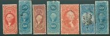 USA early large Fiscal/Revenue stamp collection