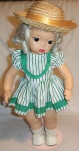 """1950's Vintage Complete 16"""" Platinum Blonde Terri Lee Doll w/ tagged outfit AND"""