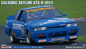 Hasegawa 21127 HC-27 1/24 Model Car Kit Impul Calsonic Skyline GTS-R R31 JTCC'89