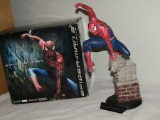 """Sideshow Marvel 14"""" Spider-man Statue from Spider-man 3. #526/1750"""