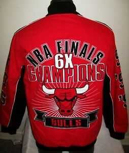 CHICAGO BULLS Ultimate 6 Time NBA FINALSCHAMPIONSHIP Cotton Jacket 2020 3X 5X