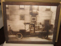 Antique photograph of a Coca-Cola delivery truck