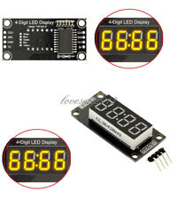 "0.36"" inch TM1637 4-Bits Digital LED Clock Tube Display Yellow  for Arduino"