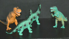 Dolgen Dinosaur Lot 2-Brachiosaurus T-Rex Allosaurus Made In China
