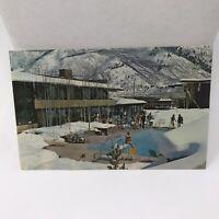 Vintage Postcard The Aspen Inn Colorado Hotel Advertisement