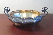 Art Deco WMF silver plate centerpiece bowl