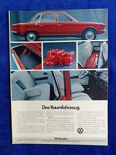 NSU Volkswagen K 70 - Werbeanzeige Reklame Advertisement 1972 __ (665