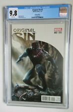 ORIGINAL SIN #2 CGC 9.8 BLACK PANTHER VARIANT EDITION DELL OTTO 1/50 NM/MT