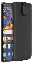 mumbi Leder Tasche für Huawei P30 Pro Etui Hülle Case Cover Bumper Handy Schutz