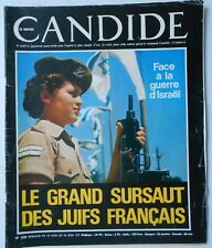► CANDIDE 320/1967 - NASSER - CATHERINE DENEUVE - SIMONE SIGNORET