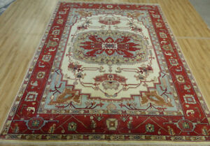 9'x12' New Antiqued Oriental Hand Knotted wool Super Serapi Herizz Tribal rug