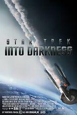 "STAR TREK INTO DARKNESS 2013 Original 2 Sided DS 27x40"" Movie Poster Chris Pine"