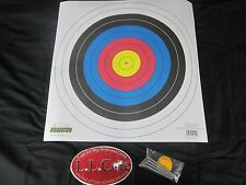 10 pack single spot 40cm Official FITA paper target Martin Archery 10 ring