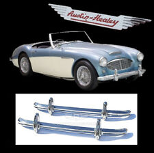 Austin Healey 100-6 and 3000 BN4-BJ8 Brand New Stainless Steel Bumpers