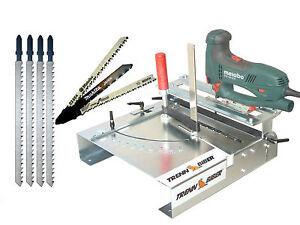 Laminatschneider Vinylschneider 012LK+Makita Bosch +4 Lange Blätter f. Stichsäge