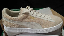 Puma Suede Wooly Furry Hairy birch Beige White Gold 8uk 9us 42eu 363291 03-New