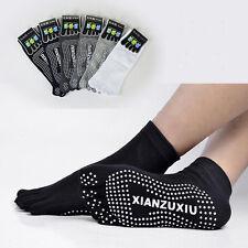 Pro 3D Antiskid Points Womens Mens Yoga Socks Gym Massage Cotton Size 37-43