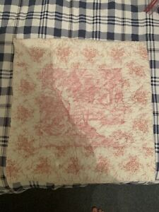 cologne and cotton Toile De Jouy Style Cushion Cover