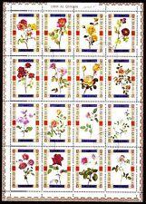 Umm al Qiwain 1972 vfu Mi.1434/49 A Blumen Flowers
