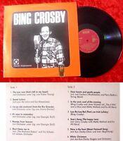 LP Bing Crosby - Deutscher Schallplattenclub