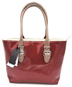 ARMANI EXCHANGE WOMAN SHOULDER BAG LARGE POLYURETHANE CASUAL 942513 9P105 DEFECT