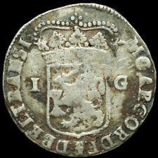 NIEDERLANDE / OVERIJSSEL: 1 Gulden 1720, Silber. NEDERLANDE - PROVINZ OVERIJSSEL