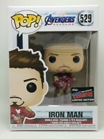 NYCC 2019 Official sticker Funko Pop Iron man # 529 Avengers Endgame (Protector)