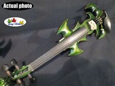 Green SONG Brand Top art crazy-1 streamline 4/4 electric violin,solid wood #9355