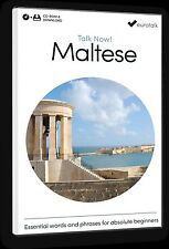 Eurotalk Talk Now Maltese for Beginners - Download option and Cd Rom