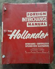 The Hollander Foreign  Interchange Manual 1979